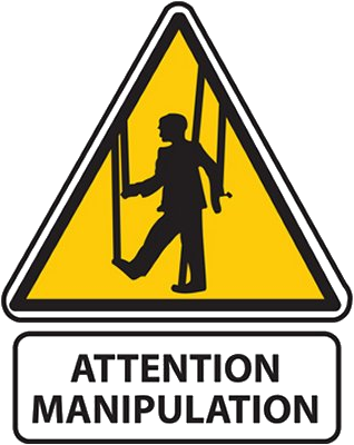 Attention: manipulation !